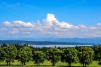 Wolkenthron über dem Starnberger See