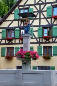 Marienbrunnen am Rathaus