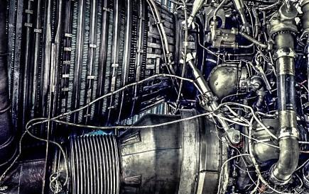 Saturn-V-Triebwerk 1. Stufe