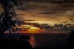 Sonnenuntergang nahe Sorrent