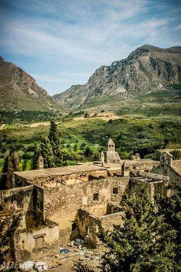 Das alte Kloster Preveli