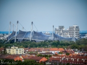 Das Zeltdach des Olympiastadions
