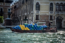 Mülltransport a la Venezia