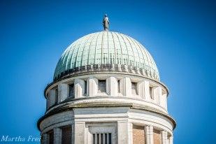 """Dieser Turm ist das weithin sichtbare """"Wahrzeichen"""" von Lido di Venezia"""