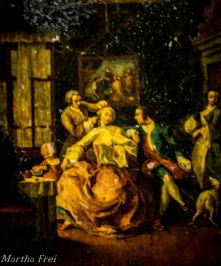 Barocke Hinterglasmalerei