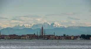 Venedig - Murano-Burano-sunset