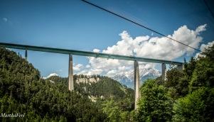 Die Europabrücke bei Innsbruck