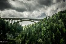 In luftiger Höhe: Die Brennerautobahn