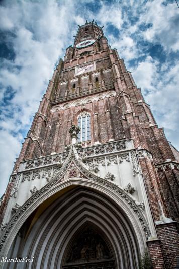 St. Martin, die größte Backsteinkirche der Welt