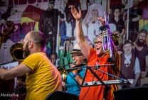 The Groove Sistas, die brachten den Marienplatz zum Rocken