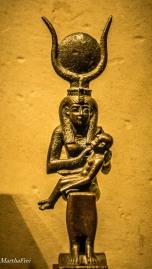 Göttin Isis mit Kind