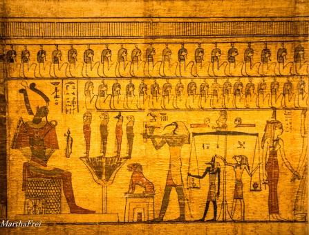 Auszug aus dem Ägyptischen Totenbuch