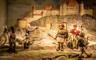 Belagerung der Feste Hohensalzburg während des Bauernaufstands 1525