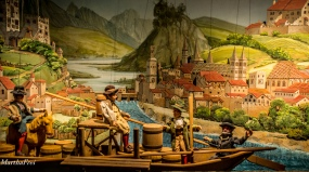 Salzach-Schiffer im ausgehenden Mittelalter