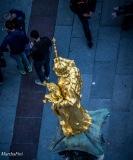 Die Mariensäule - mal aus einer etwas ungewöhnlichen Perspektive fotografiert
